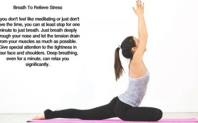 Three Ways To Relieve Stress