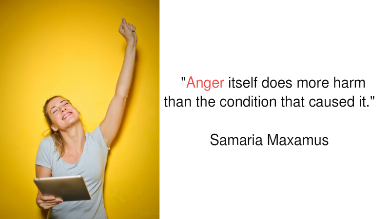 Anger — Lose Your Cool and Look Like a Fool